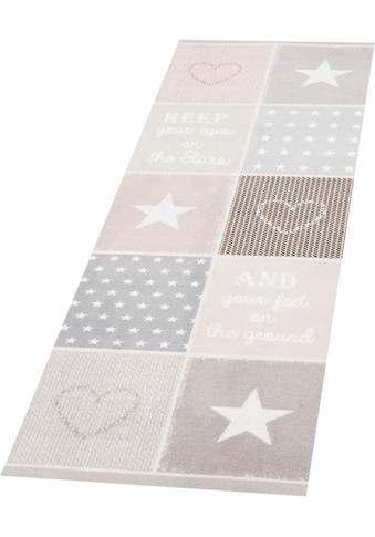 Zala Living Läufer »Patchwork Pastel«, rechteckig, 5 mm Höhe, waschbar, In- und... kaufen