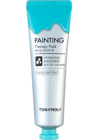 TONYMOLY Gesichtsmaske »Painting Therapy Hydrating & Calming Blue Color Gel Clay« kaufen