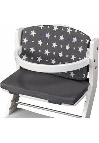 """tiSsi® Kinder - Sitzauflage """"Sterne, grau"""" kaufen"""