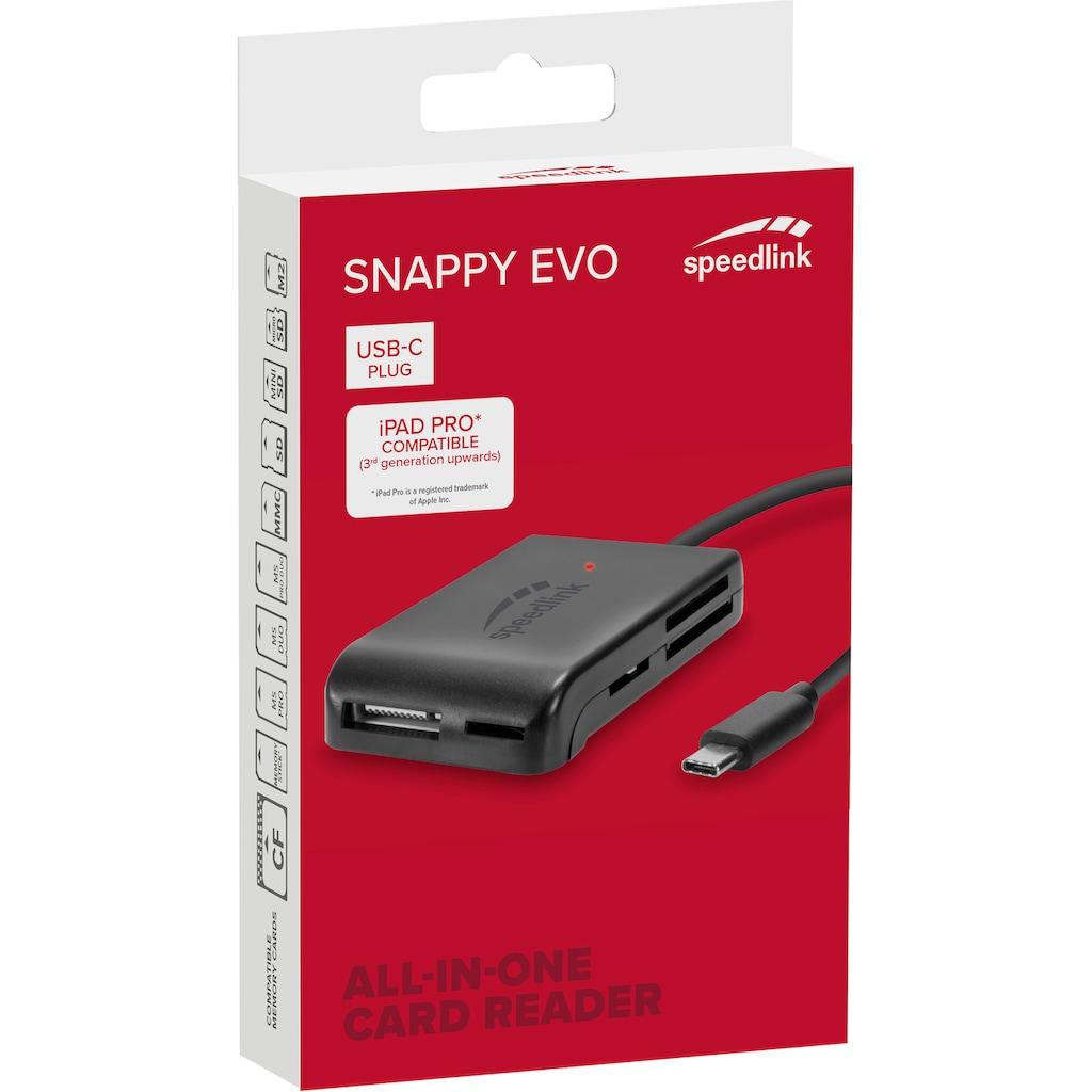 Speedlink Laptop-Dockingstation »Speedlink SNAPPY EVO Kartenlesegerät All-in-One USB-C«