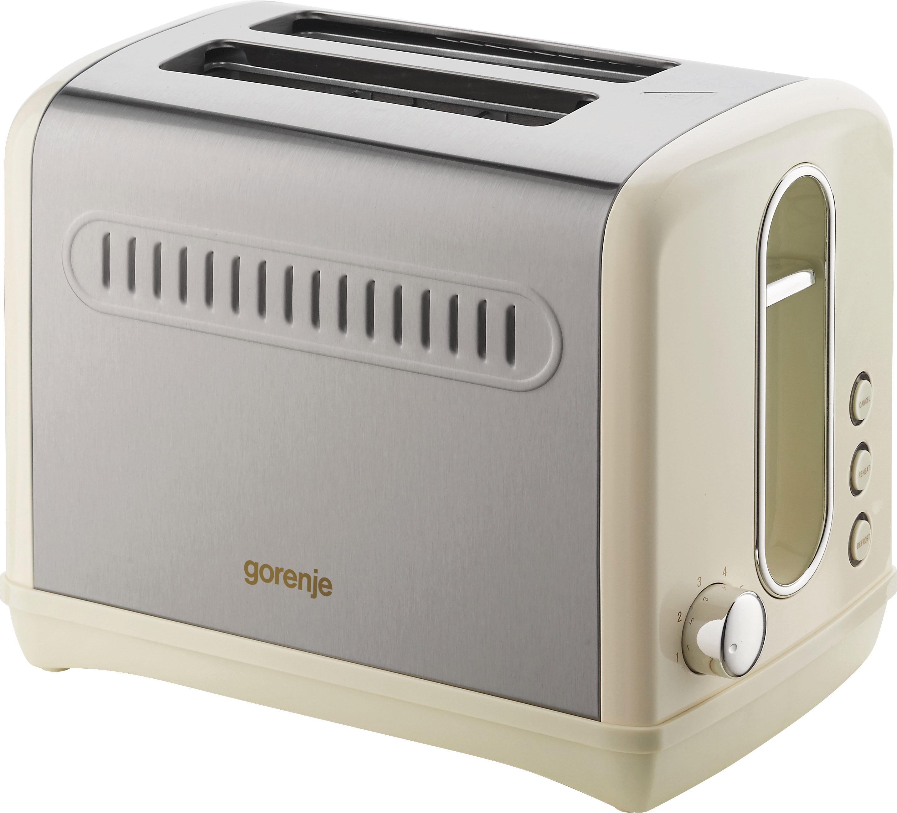 gorenje toaster t1100cli aus der classico edition 950. Black Bedroom Furniture Sets. Home Design Ideas