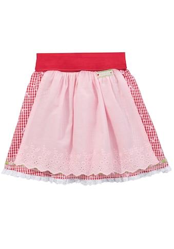 BONDI Trachtenrock Kinder mit Spitzenbesatz am Saum kaufen