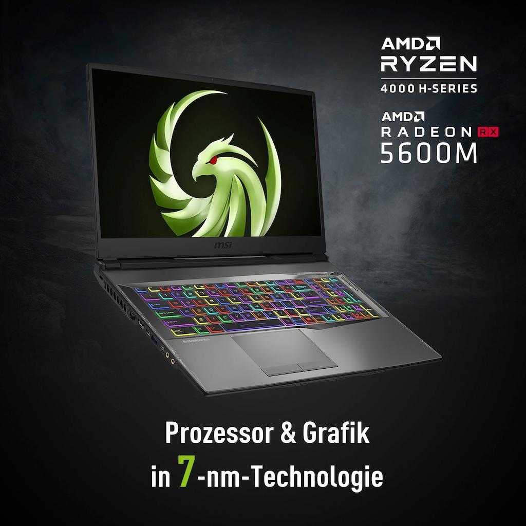 """MSI Notebook »Alpha 17 A4DEK-009«, (43,9 cm/17,3 """" AMD Ryzen 7 Radeon R X 5600 M\r\n 512 GB SSD), Kostenloses Upgrade auf Windows 11, sobald verfügbar"""