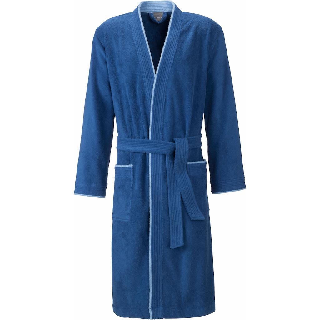 Egeria Herrenbademantel »Nico«, mit Kimono-Kragen