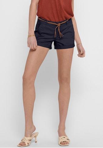 Only Shorts »ONLEVELYN«, im Chino Style kaufen