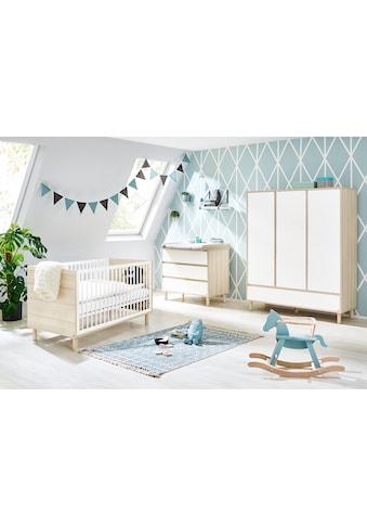 Pinolino® Babyzimmer-Komplettset »Flow«, (Set, 3 St.), breit groß; mit Kinderbett,... kaufen
