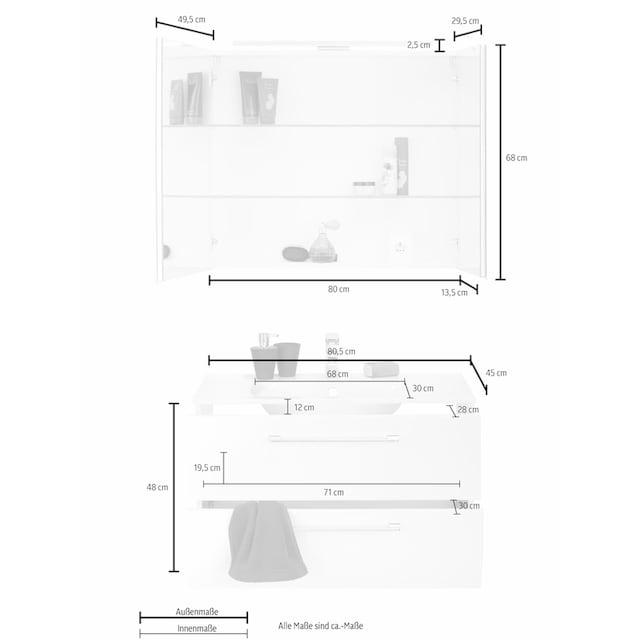 MARLIN Waschtisch-Set »Sola 3130« (Set, 2-tlg)