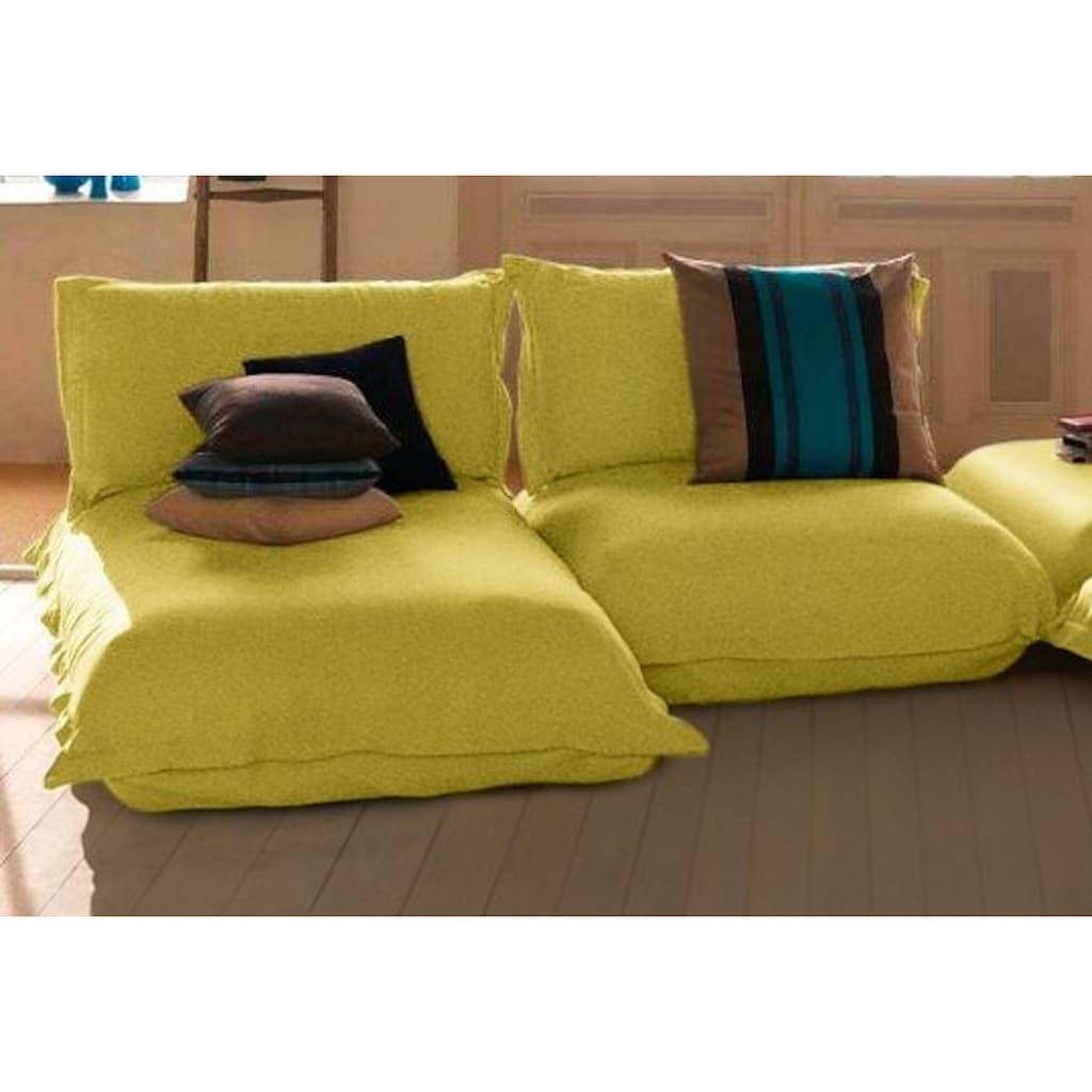 TOM TAILOR Chaiselongue »CUSHION«, kurz, Sitztiefe 65 cm, inspiriert von Pantone 2021