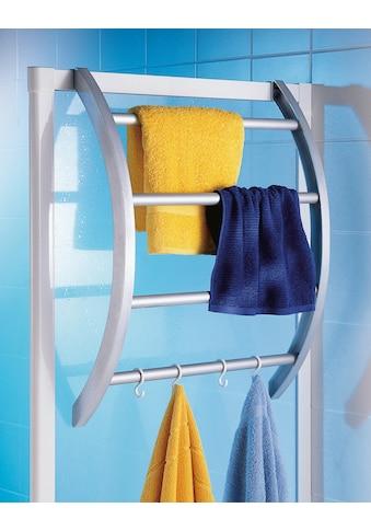 Ruco Handtuchhalter, Kunststoff/Aluminium, Befestigung ohne Bohren - einfach einhängen kaufen