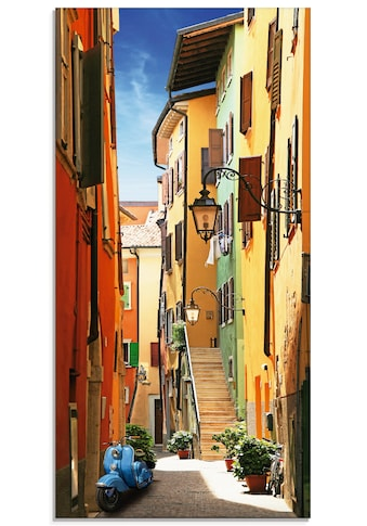 Artland Glasbild »Altstadtgasse Riva del Garda« kaufen