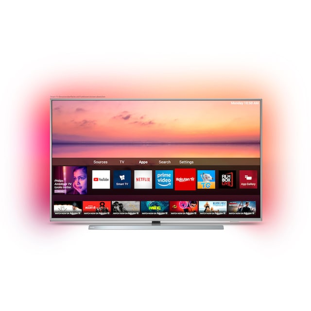 Philips 55PUS6804 LED-Fernseher (139 cm / (55 Zoll), 4K Ultra HD, Smart-TV