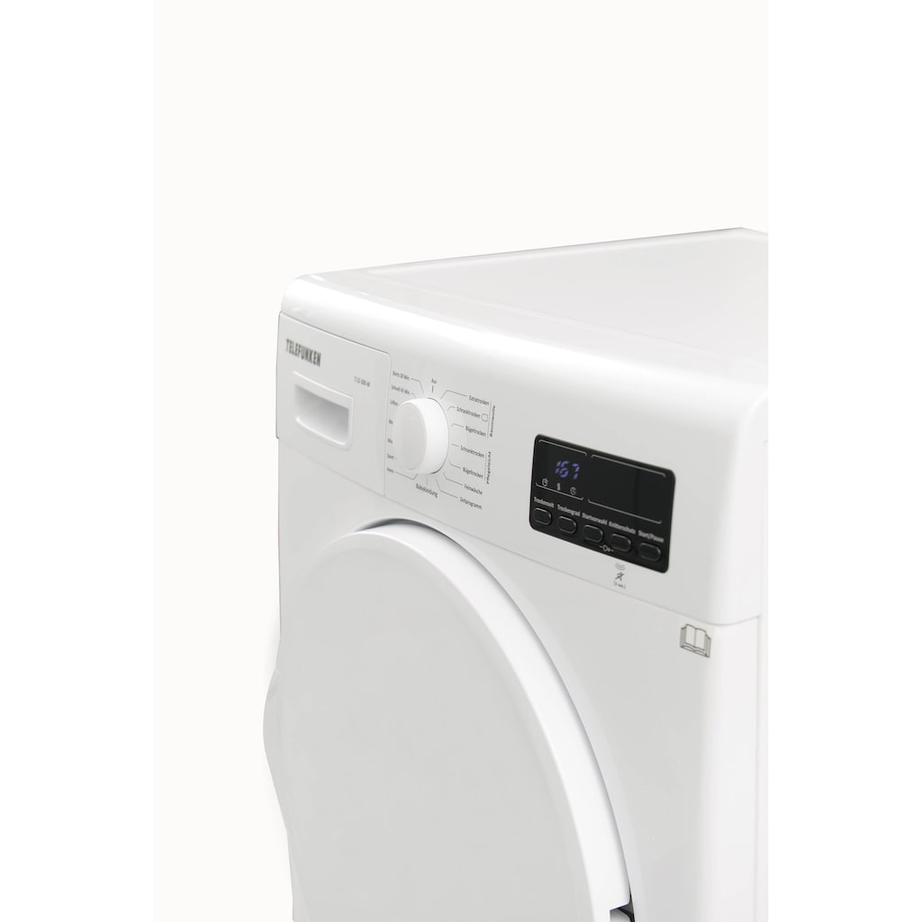 Telefunken Wärmepumpentrockner (7 kg /A++ / weiß)