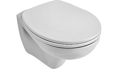 VILLEROY & BOCH Tiefspül - WC »O.novo«, Compact, wandhängend Weiß Alpin CeramicPlus kaufen