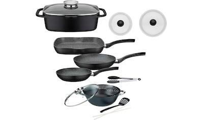 GSW Topf-Set »Gourmet«, Aluminiumguss, (Set, 8 tlg., (3-tlg. Pfannen-Set, 2... kaufen