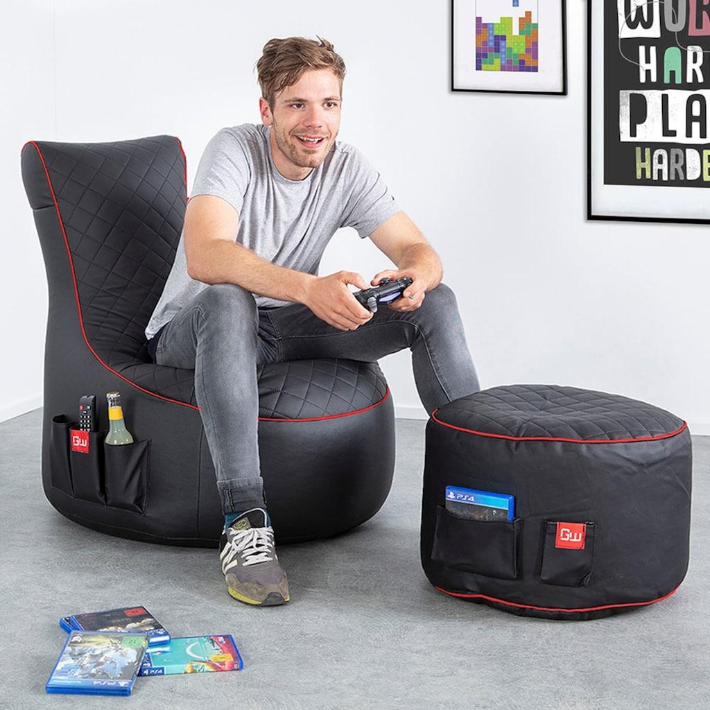Sitzsack »Gaming Sitzsack« (1 Stück)