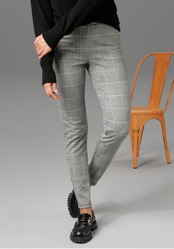 Aniston CASUAL Leggings, im Karo-Dessin - NEUE KOLLEKTION kaufen