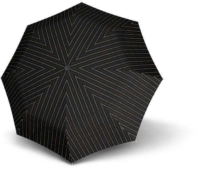 Knirps®, Taschenregenschirm T.300 Large Duomatic | Accessoires > Regenschirme > Sonstige Regenschirme | Schwarz | Stahl | knirps