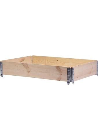 DOBAR Hochbeet BxTxH: 120x80x20 cm kaufen