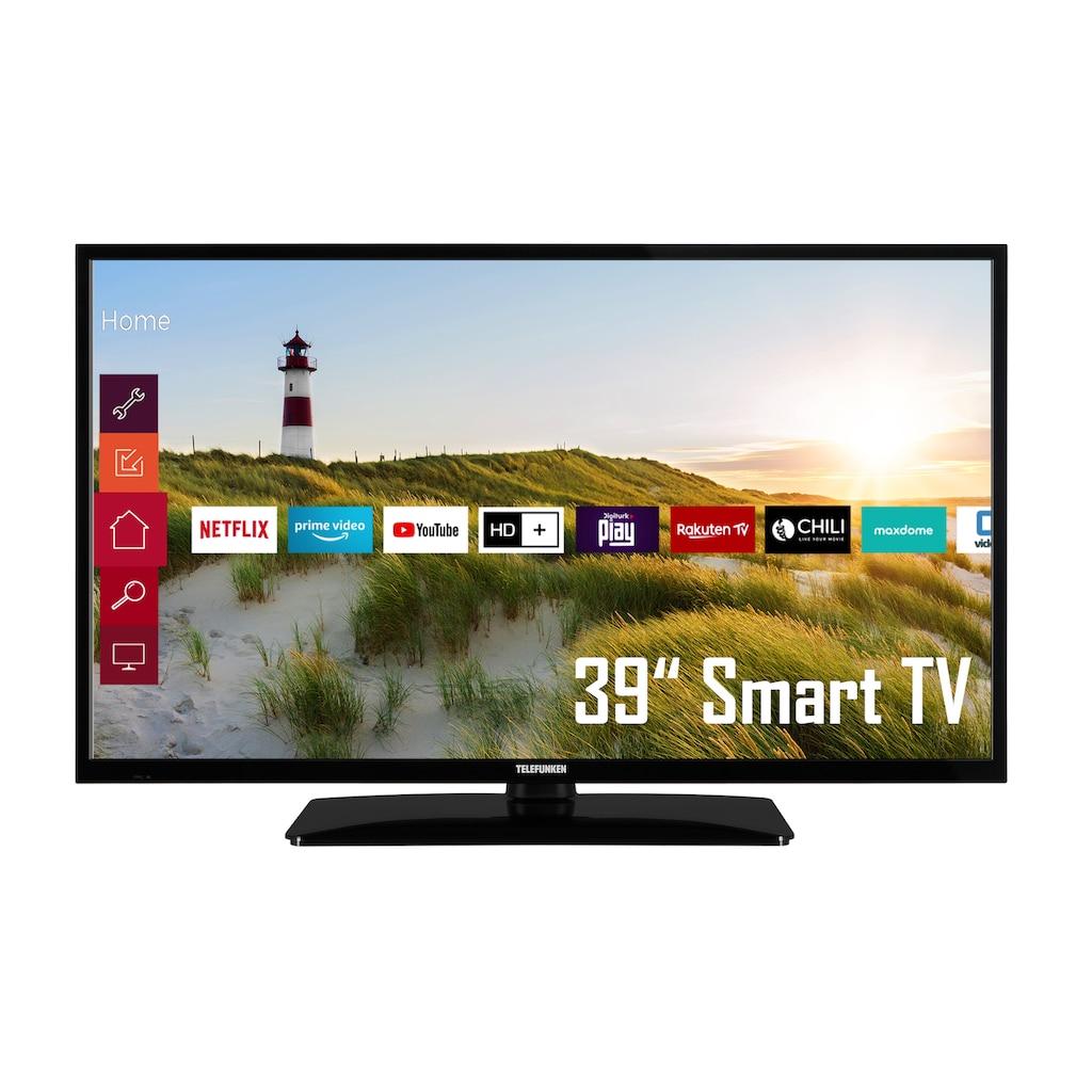 Telefunken LED-Fernseher »D39H500X1CWI«, 98 cm/39 Zoll, HD ready, Smart-TV