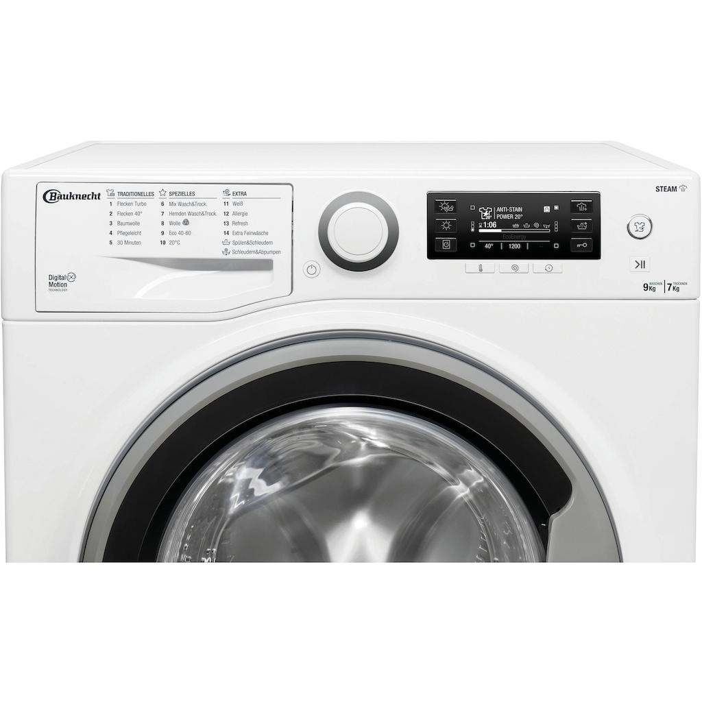 BAUKNECHT Waschtrockner »WATK Sense 97D6 N EU«