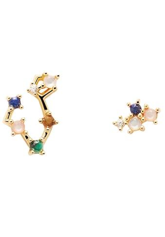 PDPAOLA Paar Ohrstecker »Zodiac Constellations Earrings, Sternzeichen, AR01-402-U,... kaufen