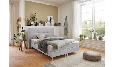 ATLANTIC home collection Boxbett, mit Taschenfederkern-Matratze und Topper kaufen