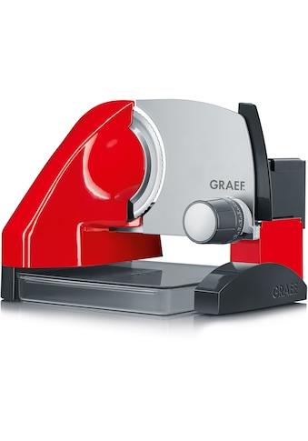 Graef Allesschneider »SlicedKitchen S 50003«, 170 W, inkl. Aufbewahrungsbox & MiniSlice-Aufsatz, rot kaufen