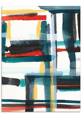 Artland Glasbild »Bücherregal II«, Muster, (1 St.) kaufen