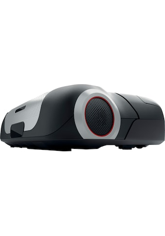BOSCH Saugroboter »Roxxter Serie 6, BCR1ACDE, silber/schwarz,«, Navigationssystem, APP-Steuerung mit Home Connect, interaktive Raumauswahl, virtuelle No-Go-Zones kaufen