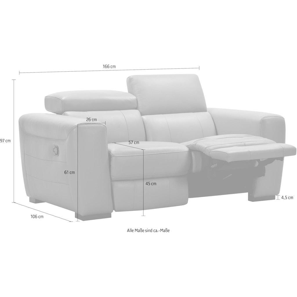 2-Sitzer, inkl. manueller Relaxfunktion