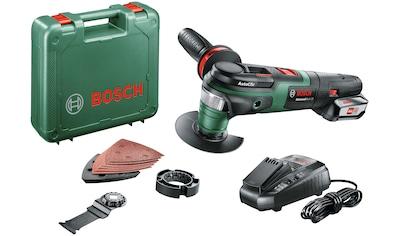 Bosch Powertools Akku-Multifunktionswerkzeug »AdvancedMulti 18«, mit Akku und Ladegerät kaufen