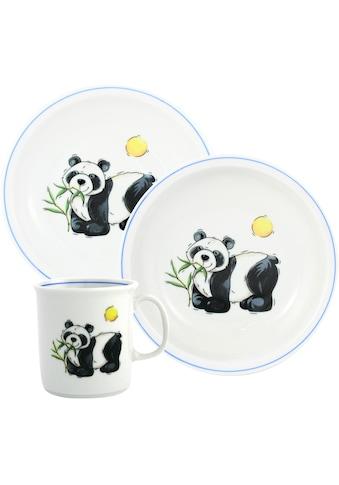 TRIPTIS® Thüringer Meisterporzellan Kindergeschirr-Set »Panda«, (Set, 3 tlg.), mit... kaufen