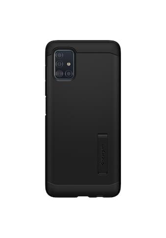 Spigen Smartphone-Hülle »Spigen Galaxy A51 Case Tough Armor«, Schwarz kaufen
