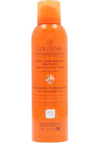 COLLISTAR Selbstbräunungsspray »Moisturizing Tanning Spray«, Lichtschutzfaktor 20 kaufen