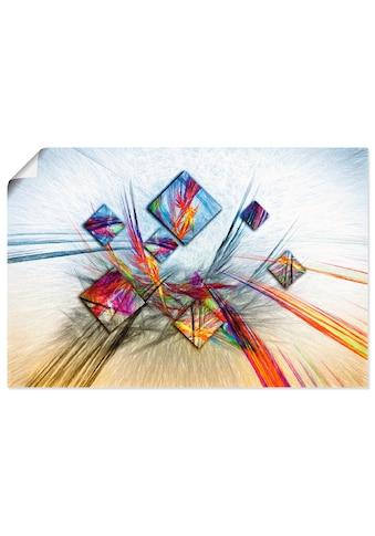 Artland Wandbild »Digitale abstrakte Malerei« kaufen