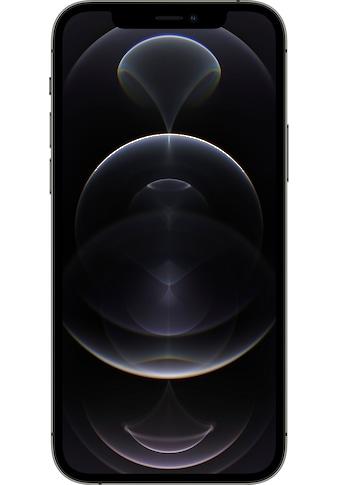 """Apple Smartphone »iPhone 12 Pro«, (15,5 cm/6,1 """" 256 GB Speicherplatz, 12 MP Kamera), ohne Strom Adapter und Kopfhörer, kompatibel mit AirPods, AirPods Pro, Earpods Kopfhörer kaufen"""