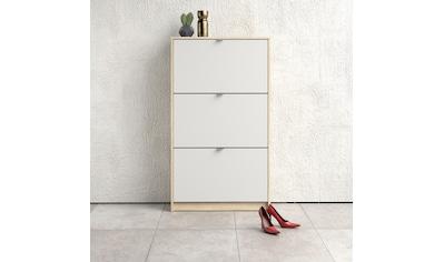 Home affaire Schuhschrank »Shoes«, mit drei Klappen, in verschiedenen Farbvarianten erhältlich kaufen
