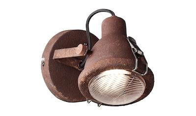 Brilliant Leuchten LED Wandleuchte, GU10, Bentli Wandspot rostfarbend kaufen