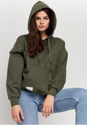 MAZINE Sweatshirt »Willow«, cooler Hoodie mit Känguru-Tasche kaufen