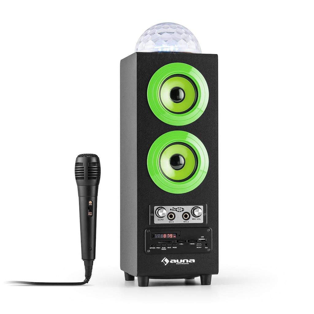 Auna Portabler 2.1-Bluetooth-Lautsprecher USB