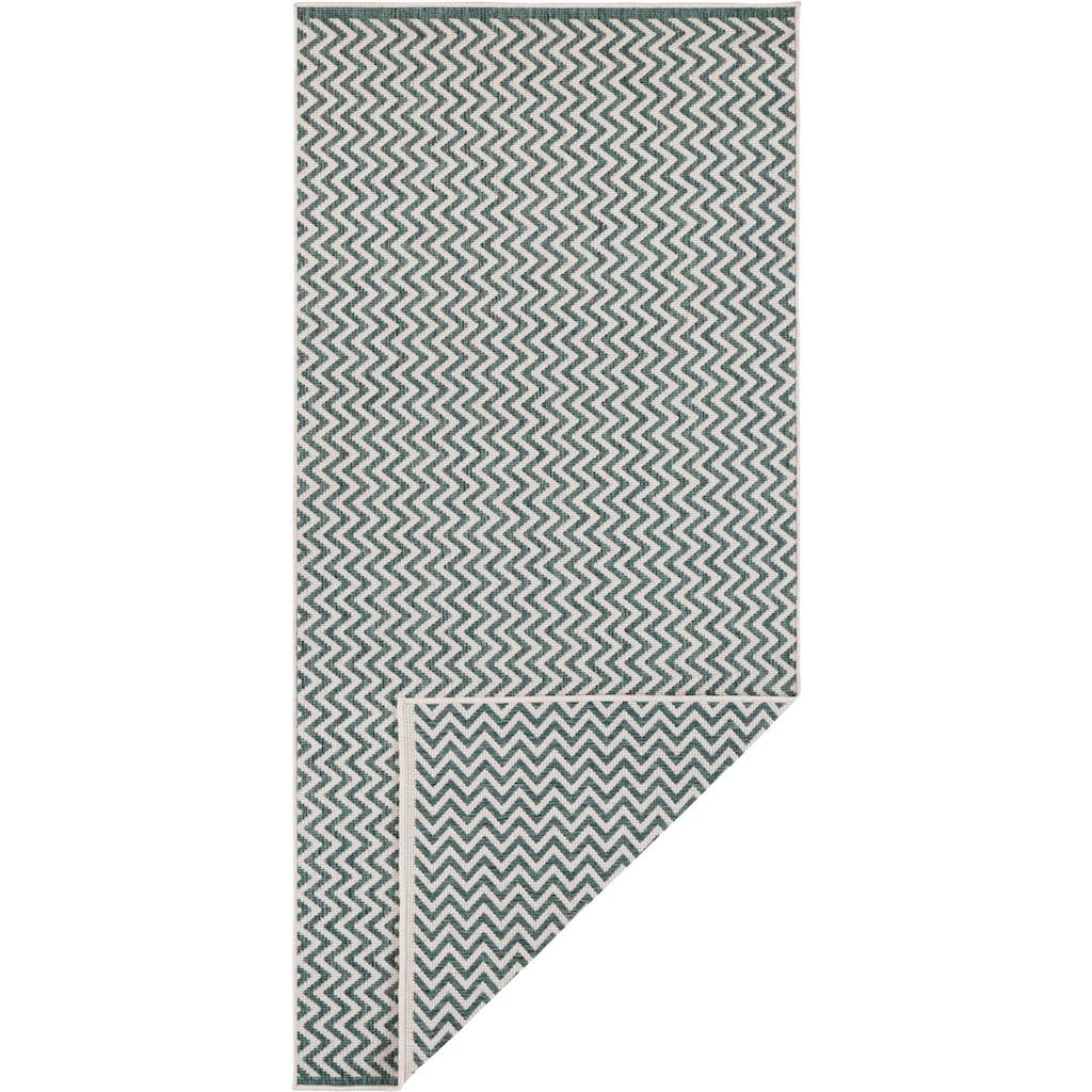 freundin Home Collection Läufer »Ivy 2«, rechteckig, 5 mm Höhe, In- und Outdoor geeignet, Wendeteppich