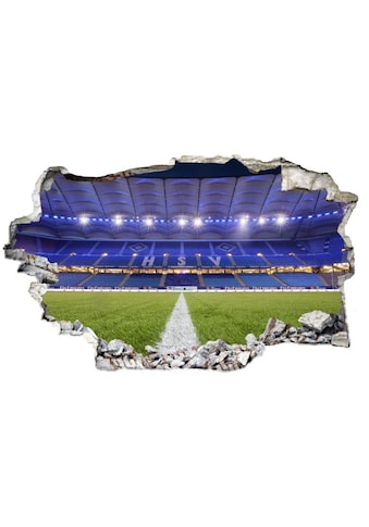 Wall-Art Wandtattoo »3D Fußball HSV Arena 03« kaufen