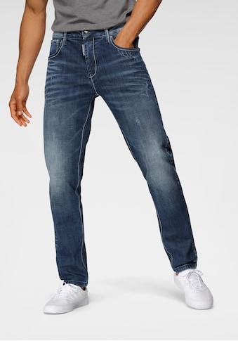 Cipo & Baxx Slim-fit-Jeans, markante Waschung kaufen