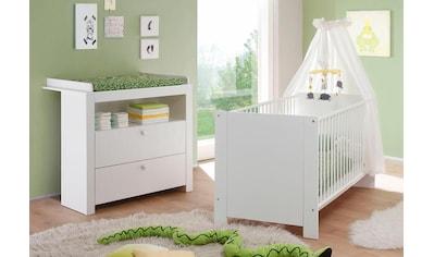Babymöbel-Set »Trend«, (Spar-Set, 2 St.), Bett + Wickelkommode kaufen