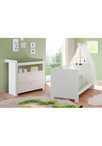 Babymöbel-Set »Trend«, (Spar-Set, 2 tlg.), Bett + Wickelkommode kaufen