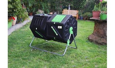 UPP Trommelkomposter BxTxH: 60x95x82 cm, 2x105 Liter kaufen
