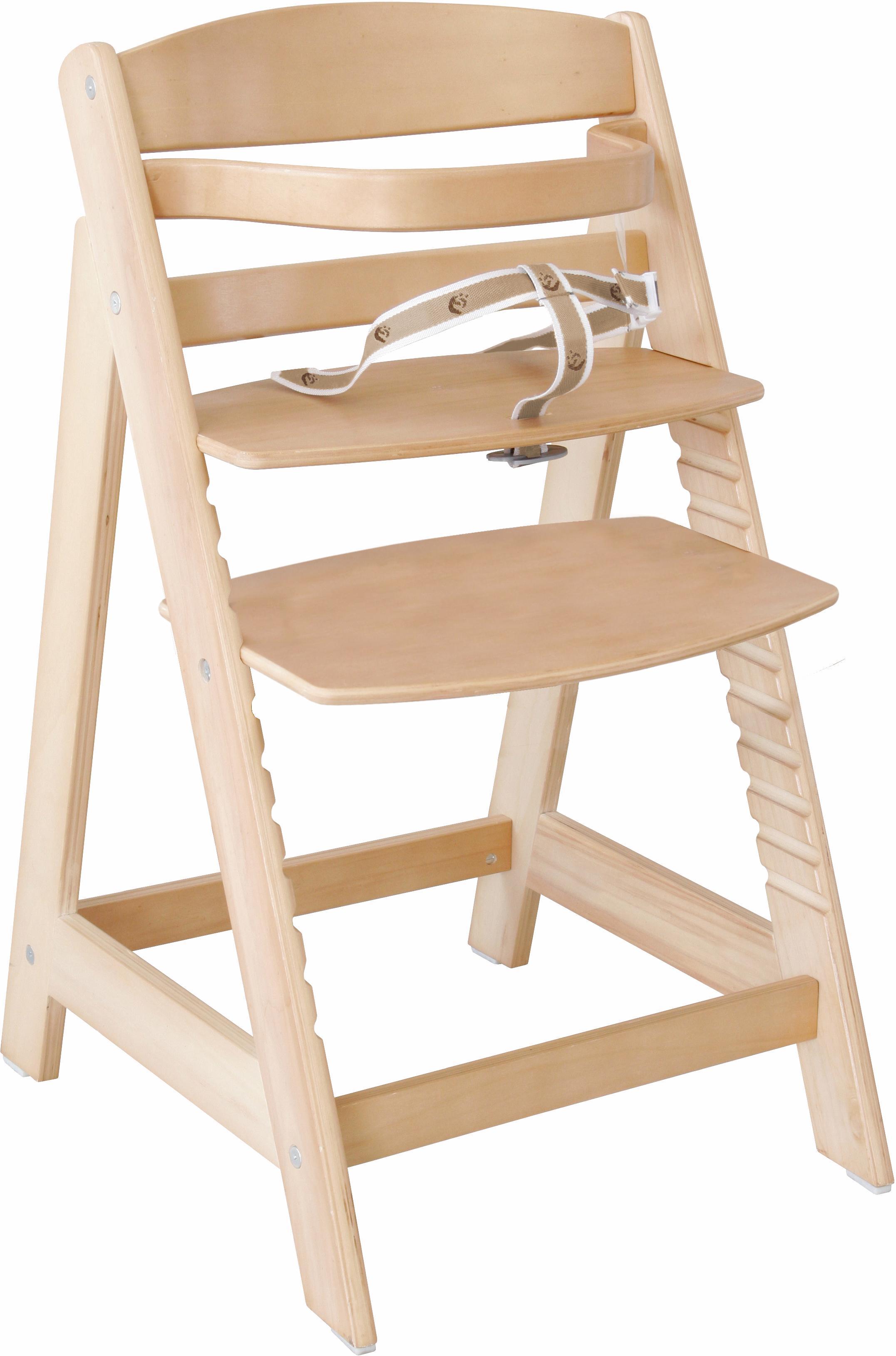 Roba Hochstuhl aus Holz, »Treppenhochstuhl Sit up III, natur«   Baumarkt > Leitern und Treppen > Treppen   Natur   Holz   ROBA