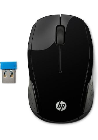 HP Maus »Kabelloser Komfort«, kabellos-RF Wireless, Wireless Mouse 200 kaufen