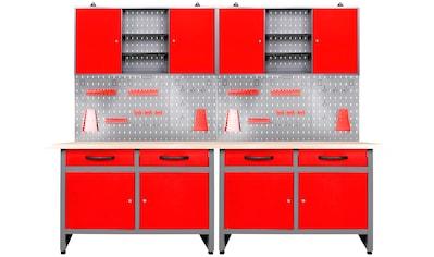 ONDIS24 Werkstatt - Set »Werner«, 240 cm, mit LED kaufen