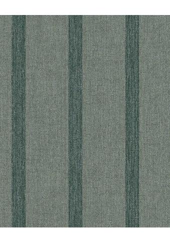 SCHÖNER WOHNEN Vliestapete »Tapete grün, beige, Streifen, Vliestapete von marburg, Premium Qualität« kaufen